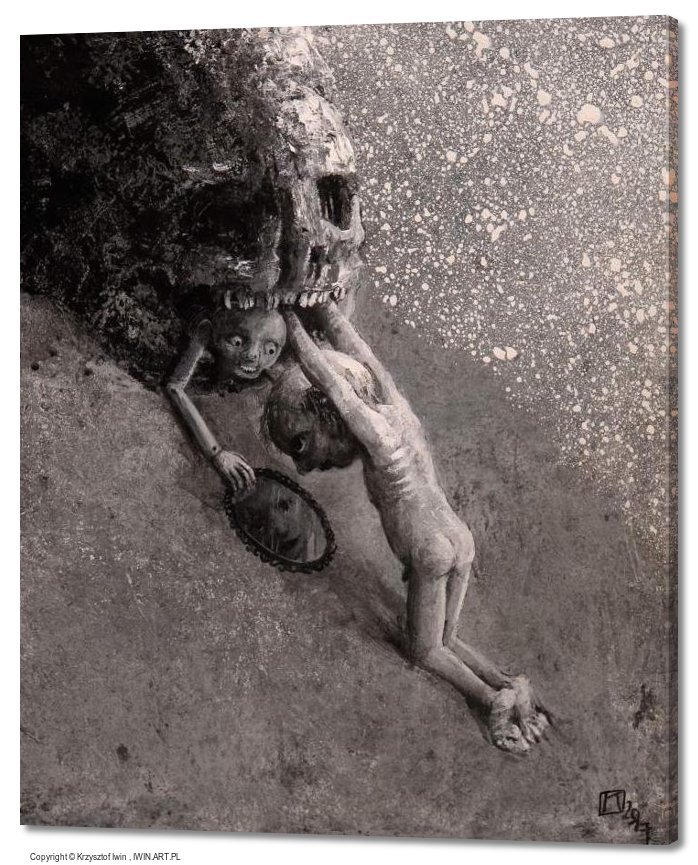 Sisyphus (20x24″)