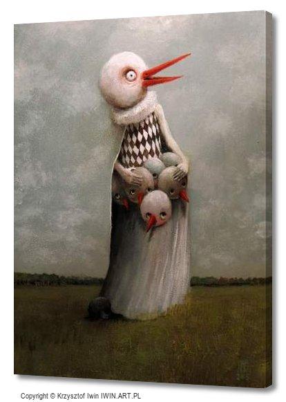 Chicks (12x16″)