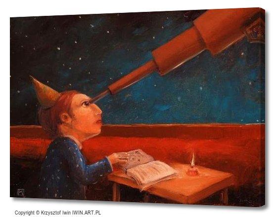 Astronomer (16x12″)