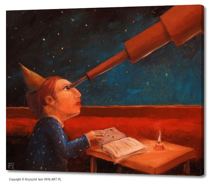 Astronomer (24x20″)