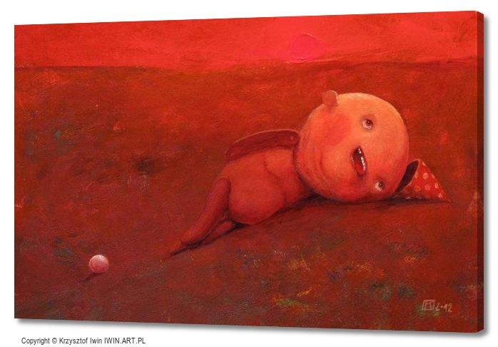 Sisyphus (24x16″)