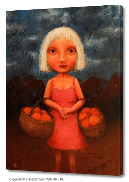 Pomarańczarka (12x16″)