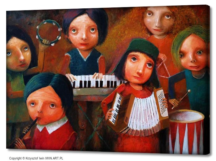 Childrens Orchestra (28x20″)