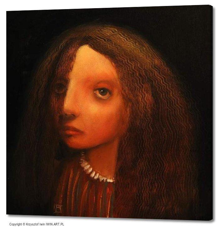 Hair (20x20″)