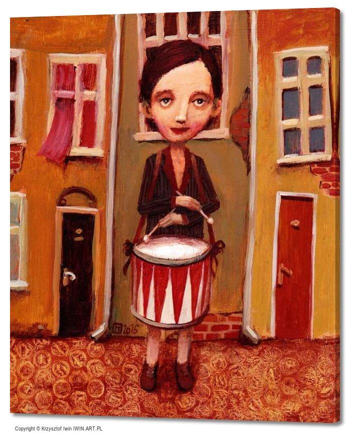 Drummer (20x24″)
