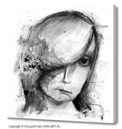 Portrait (12x12″)