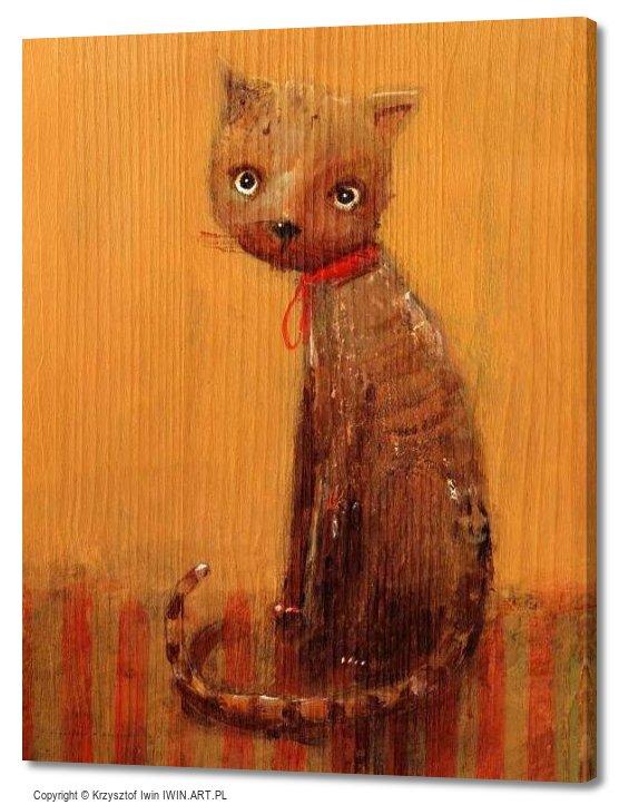 Cat Marianna (16x20″)