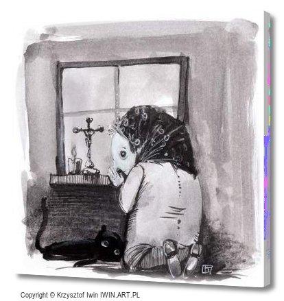 Prayer (12x12″)