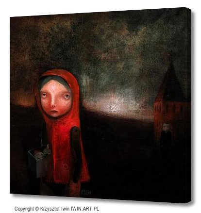 Little Red Riding Hood (12x12″)