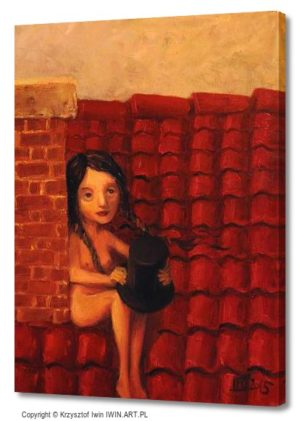 Chimney sweep (12x16″)