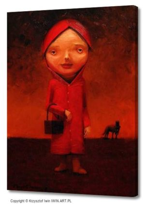Little Red Riding Hood (12x16″)
