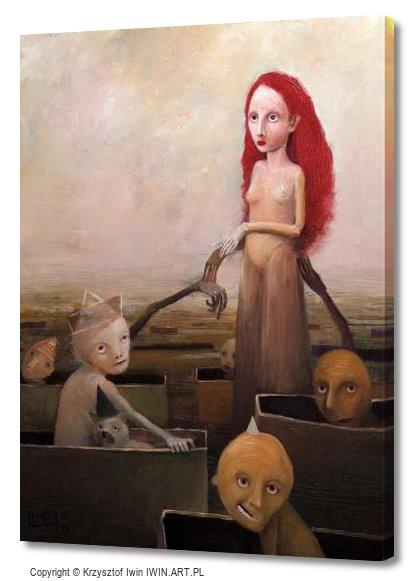 Mermaid (12x16″)