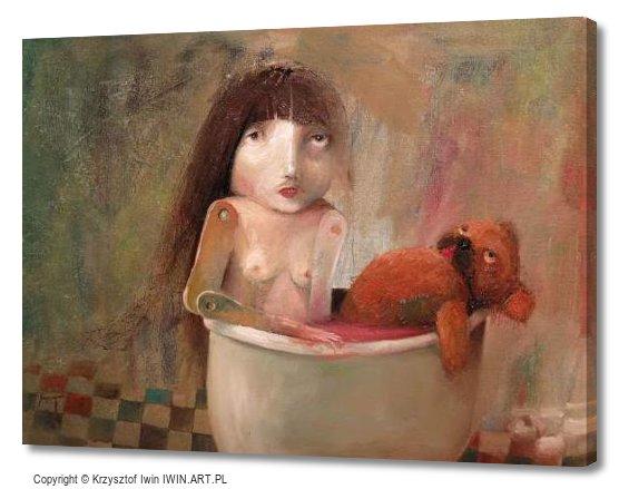 Last bath (16x12″)