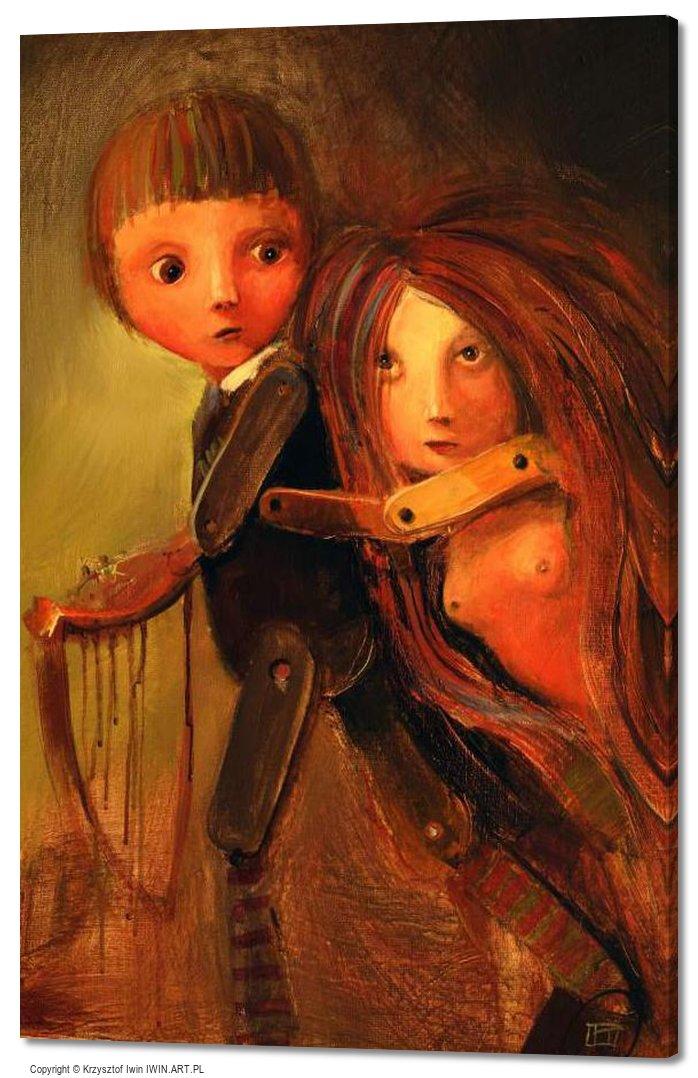 Orpheus and Eurydice (16x24″)
