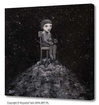 Contemplation (12x12″)