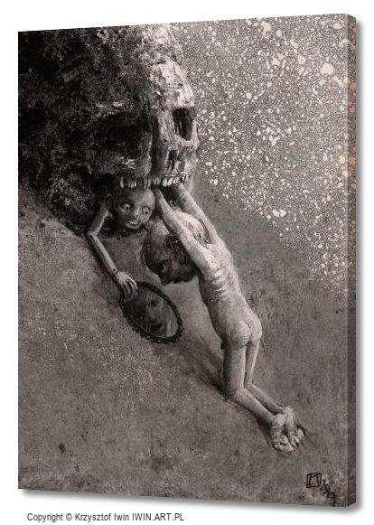 Sisyphus (12x16″)