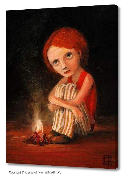 Campfire (12x16″)
