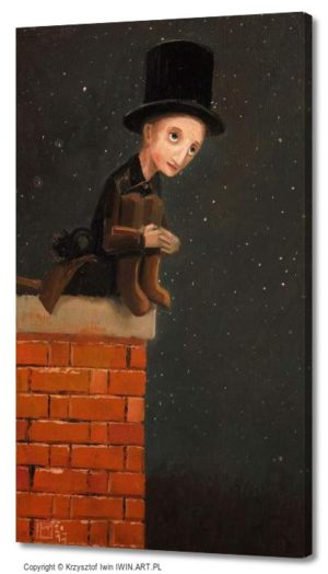 Chimney sweep (12x20″)