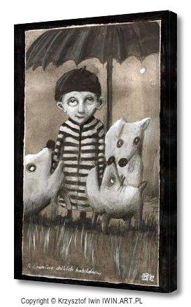 Tamer wild bobikow (8x12″)