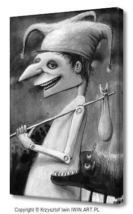 The Fool (8x12″)