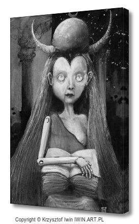 The High Priestess (8x12″)