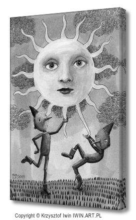 The Sun (8x12″)