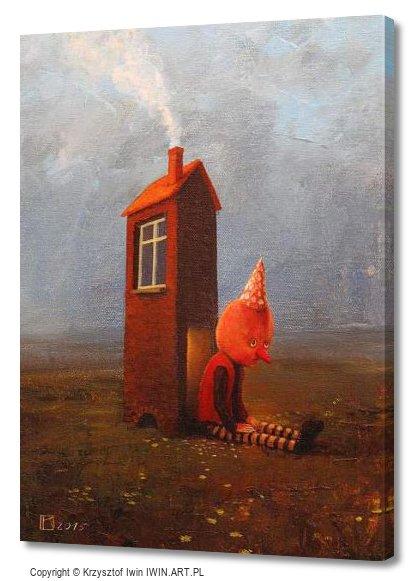 House (12x16″)