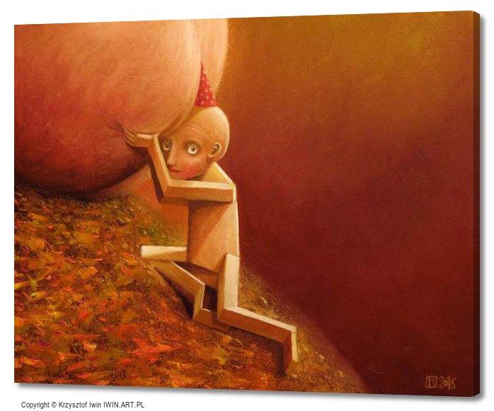 Sisyphus (20x16″)