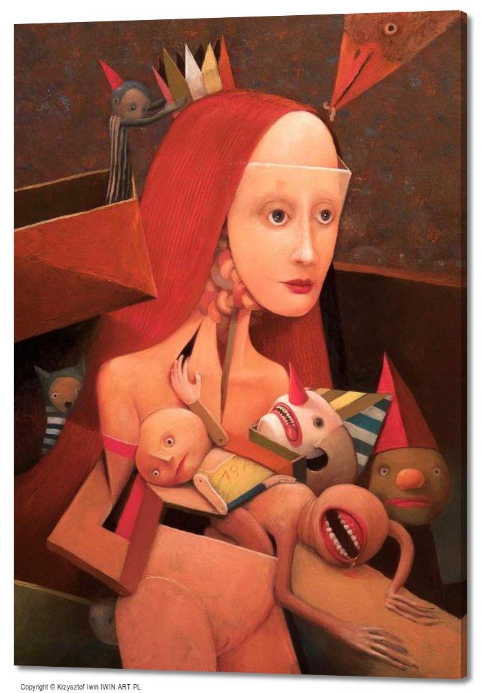 Venus with toys (20x28″)