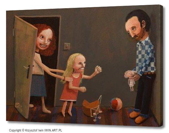 Parental alienation syndrome (16x12″)