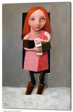The little match girl (16x24″)
