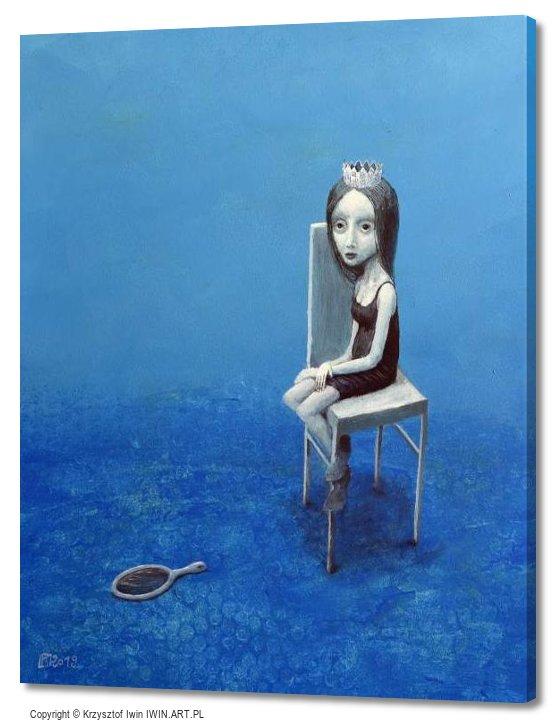Black mirror (16x20″)
