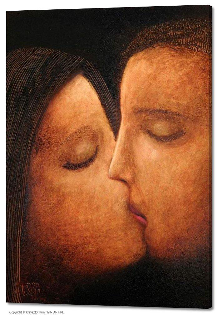Kiss (20x28″)