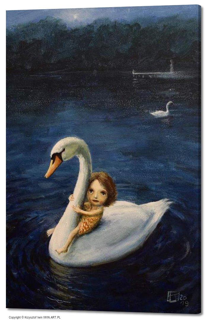 Water child (16x24″)