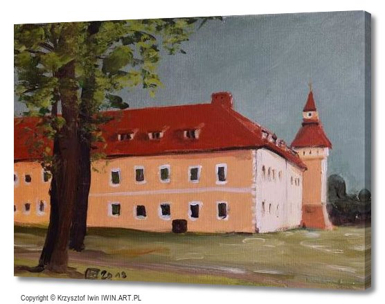 The old church of Saint Martin in Tarnowskie GoryStare Tarnowice (16x12″)