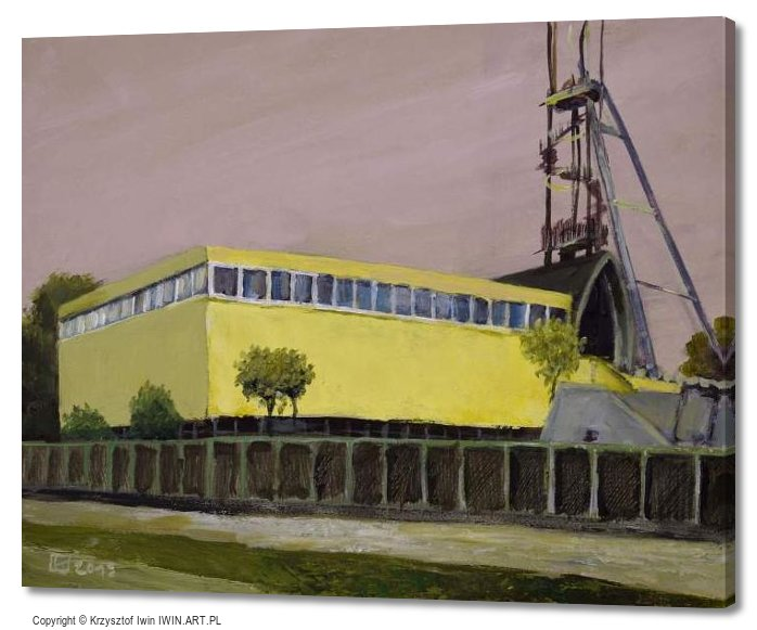The historic Silver mine in tarnowskie Gory (20x16″)