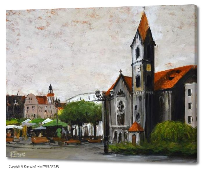 Church of the Redeemer in tarnowskie Gory (20x16″)