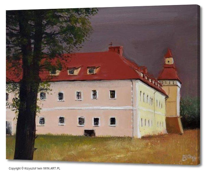 Castle in Stare Tarnowice (20x16″)