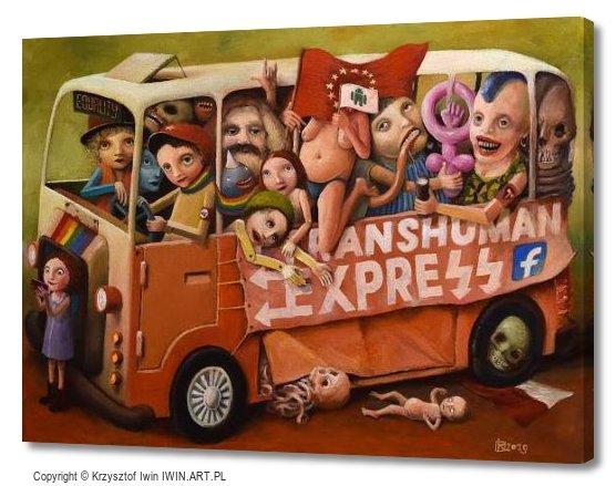 Bus (16x12″)