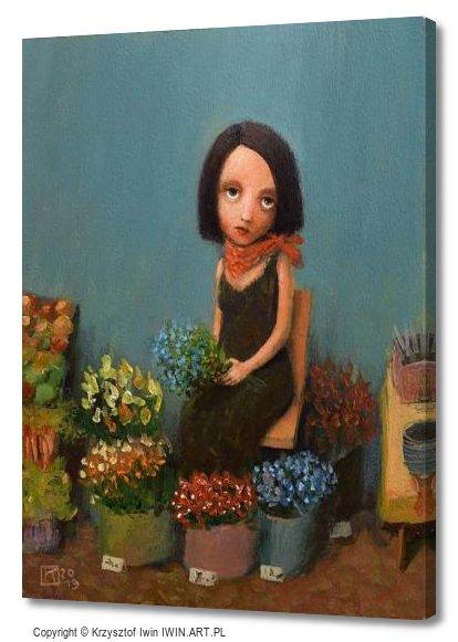 Florist (12x16″)