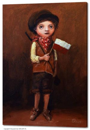 Boy from the Square of Arms (20x28″)